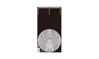 MinottiPerry/Oak MokaD115 x 38h cm